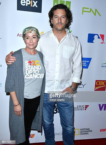 Shannen Doherty Kurt Iswarienko arrives at the Hollywood Unites For The 5th Biennial Stand Up To Cancer A Program Of The Entertainment Industry...