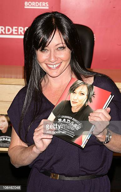 Shannen Doherty promotes 'Badass' at Borders Books Music Columbus Circle on November 2 2010 in New York City
