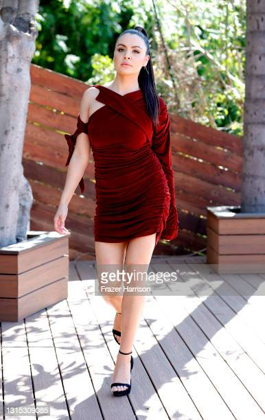 Shannon Baker attends Jonathan Marc Stein Autumn/Winter 2021 Virtual Show Debut Filming on April 29, 2021 in Studio City, California.