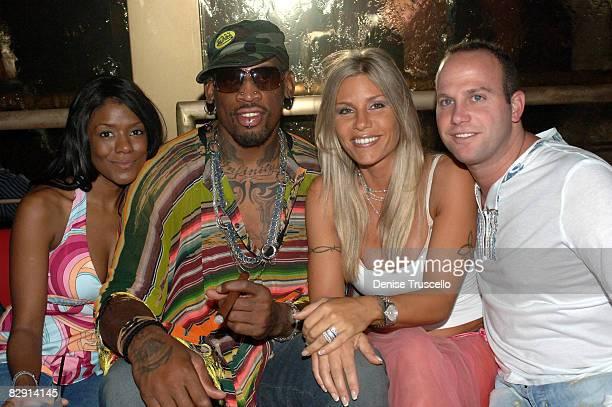 Shannon Barr Dennis Rodman Michelle Rodman and Darren Prince