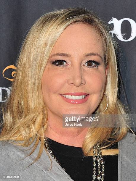 Shannon Beador arrives at the Premiere Event of 'Odysseo By Cavalia' on November 19 2016 in Irvine California