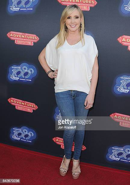 Shannon Beador arrives at the Premiere Of 100th Disney Channel Original Movie 'Adventures In Babysitting' And Celebration Of All DCOMS at Directors...