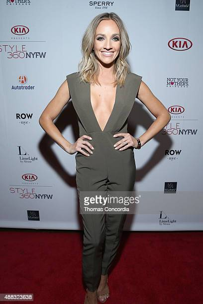 Shannon Bex attends the Us Weekly Celebrates Fashion Week At KIA STYLE360 At Row NYC on September 14 2015 in New York City