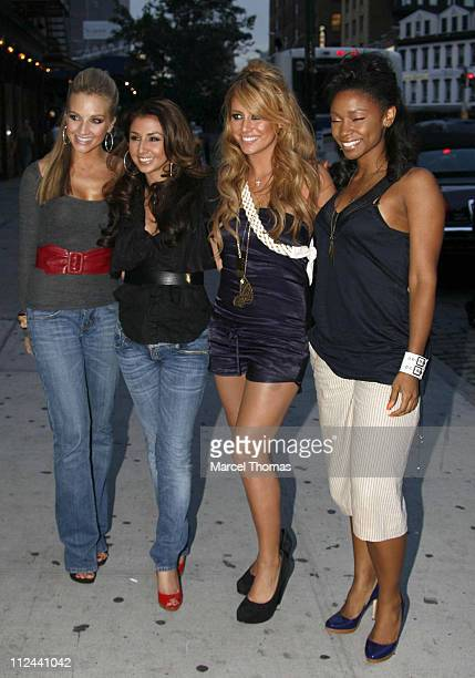 Shannon Bex Audra Fimbres Aubrey O'Bay Wanita Woodgette of Danity Kane