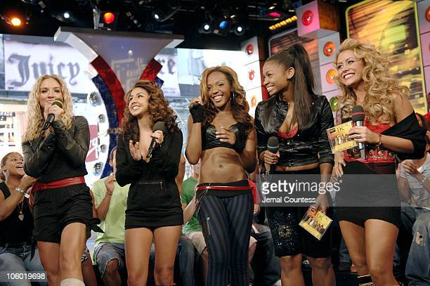 Shannon Bex Aundrea Fimbres Dawn Richard Wanita D Woods Woodgette and Dawn Richard of Danity Kane