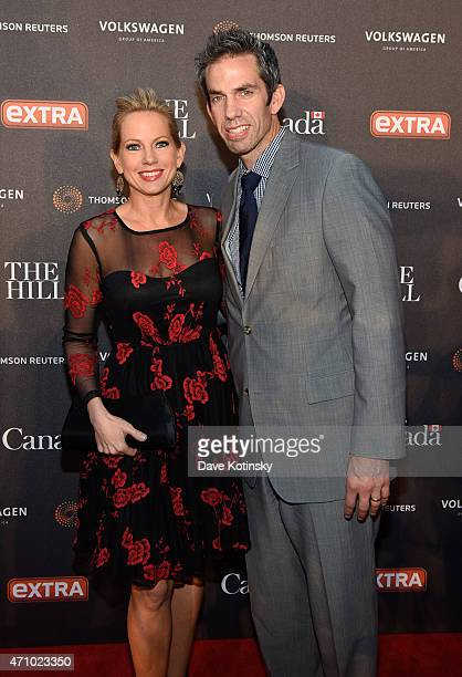 Shannon Bream attends the The Hill Extra And The Embassy Of Canada Celebrate The White House Correspondents' Dinner Weekend at Embassy of Canada on...