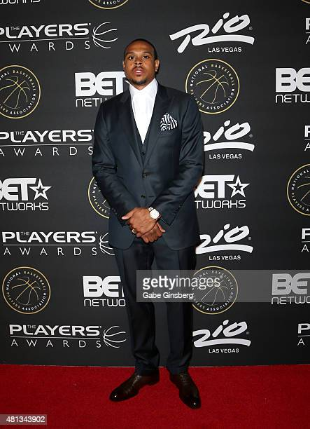 Shannon Brown attends The Players' Awards presented by BET at the Rio Hotel Casino on July 19 2015 in Las Vegas Nevada