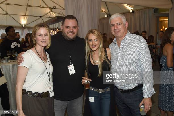 Shannon Casey Michael Bryan Brooke Eden and Rob Light attend the 25th Annual CAA BBQ in Nashville at CAA Nashville on June 5 2017 in Nashville...