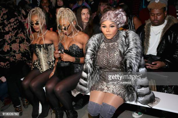Shannon Clermont Shannade Clermont and Lil' Kim attend The Blonds front row during New York Fashion Week The Shows at Gallery I at Spring Studios on...