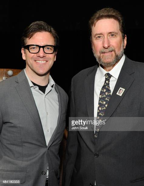 Shannon Clute and director Fraser Heston attend the Touch Of Evil Screening during the 2014 TCM Classic Film Festival at TCL Chinese Theatre on April...