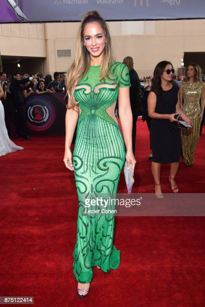 Shannon De Lima attends The 18th Annual Latin Grammy Awards at MGM Grand Garden Arena on November 16 2017 in Las Vegas Nevada