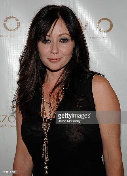 Shannon Doherty attends the Grand Opning Of Lavo Restaurant And Nightclub At The Palazzo hotel in Las Vegas on September 132008