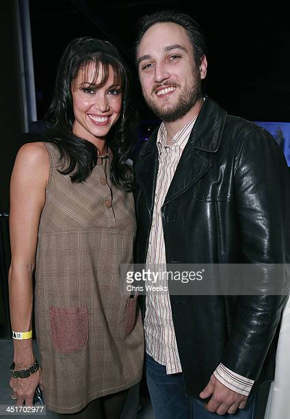 Shannon Elizabeth and Alex A Quinn during PURE Nightclub's New Year's Eve 2007 Celebration Hosted by Britney Spears Inside at Pure Nightclub in Las...