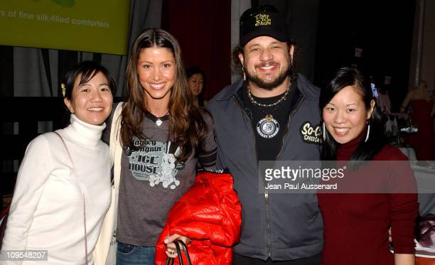 Shannon Elizabeth and Joe Reitman at Kookoon during The Silver Spoon Golden Globe Hollywood Buffet - Day 2 at Ivar Soho Project in Hollywood,...