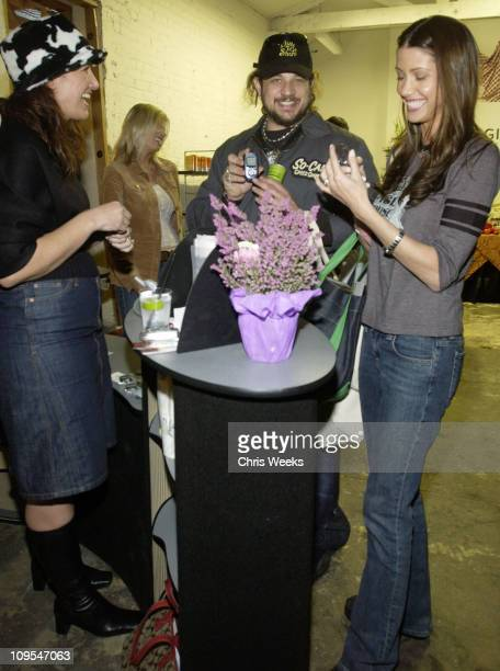 Shannon Elizabeth and Joe Reitman at Kyocera during The Silver Spoon Golden Globe Hollywood Buffet - Day 2 at Ivar Soho Project in Hollywood,...