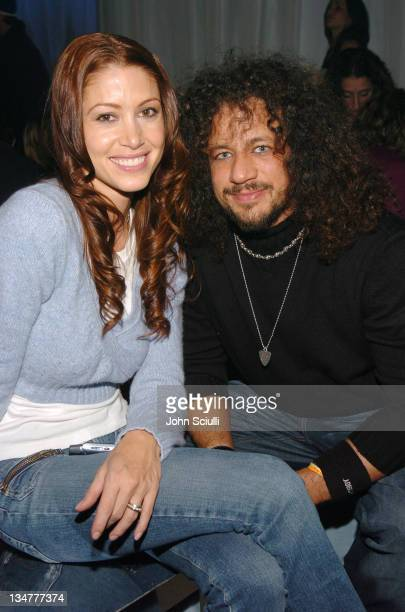 Shannon Elizabeth and Joseph D Reitman during 2005 Park City Motorola Late Night Lounge Sponsored by Motorola and Splinter Cell Chaos Theory at...