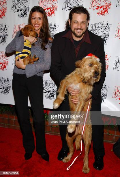 """Shannon Elizabeth and Joseph D. Reitman during """"Luck of The Paw"""" Casino Night and Silent Auction to Benefit Animal Avengers at The Victorian in Santa..."""