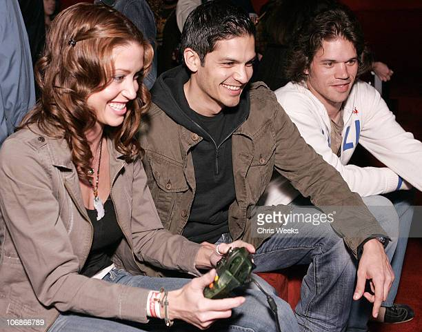 Shannon Elizabeth and Nicholas Gonzalez during EA Paramount Pictures Host The Godfather The Game Launch Party Inside at Privilege in West Hollywood...