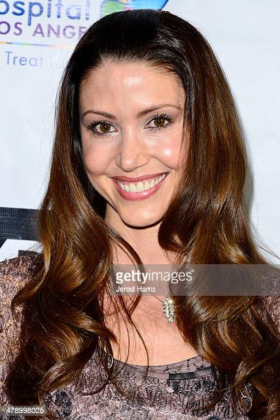 Shannon Elizabeth arrives at the Dream Builders Project's 'A Brighter Future For Children' benefit at HOME on March 15 2014 in Beverly Hills...