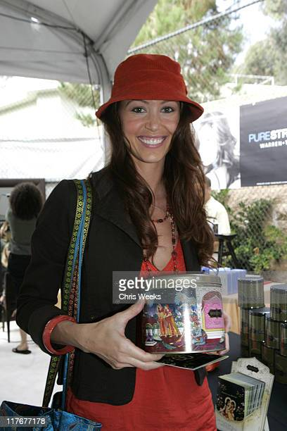 Shannon Elizabeth at Kama Sutra during Silver Spoon PreEmmy Hollywood Buffet Day 1 in Los Angeles California United States Photo by Chris...