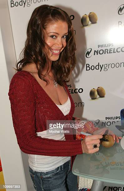 Shannon Elizabeth at Philips during 2006 Park City Philips Lounge at Village at the Lift Day 3 at Village at the Lift in Park City Utah United States