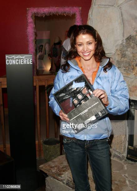 Shannon Elizabeth at the MAC suite at The SkiHouse at The Canyons