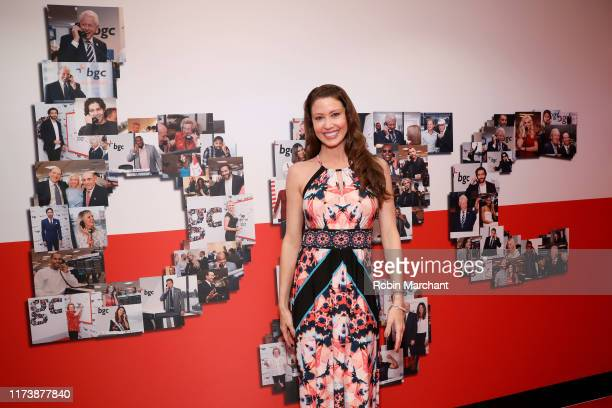 Shannon Elizabeth attends Annual Charity Day Hosted By Cantor Fitzgerald BGC and GFI BGC Office – Inside on September 11 2019 in New York City