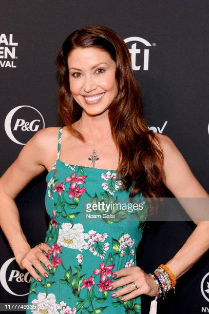 Shannon Elizabeth attends the 2019 Global Citizen Festival Power The Movement in Central Park on September 28 2019 in New York City