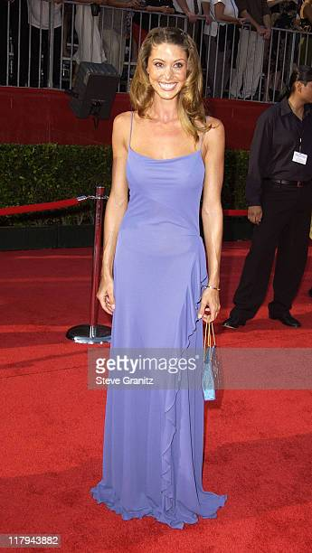 Shannon Elizabeth during 2002 ESPY Awards Arrivals at The Kodak Theater in Hollywood California United States
