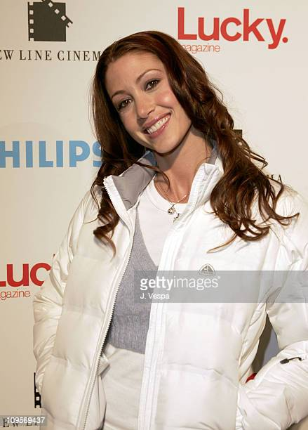 Shannon Elizabeth during 2005 Park City 'Upside of Anger' Dinner and After Party hosted by Lucky Magazine at Village at the Lift in Park City Utah...