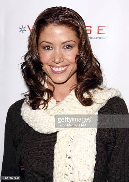 Shannon Elizabeth during 2006 Sundance Film Festival ICM Agency Party at Premiere Film Music Lounge Arrivals Day 1 at Premiere Lounge in Park City...