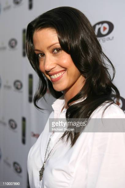 Shannon Elizabeth during 2nd Annual Celebrity Poker Tournament to Benefit The Urban Health Institute - Arrivals and Inside at Playboy Mansion in...