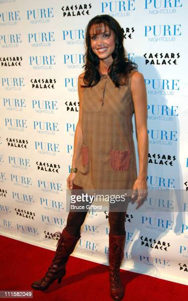 Shannon Elizabeth during Britney Spears Hosts New Year's Eve 2007at Pure Night Club at Pure Nightclub in Las Vegas Nevada United States