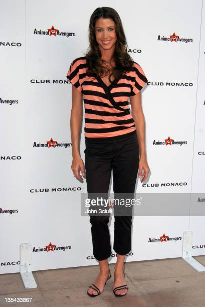 Shannon Elizabeth during Club Monaco Hosts Animal Avengers Charity Party at Club Monaco Beverly Hills in Beverly Hills California United States