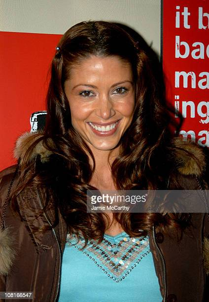 Shannon Elizabeth during CocaCola Make It Real Launch Party at Marquee in New York City New York United States
