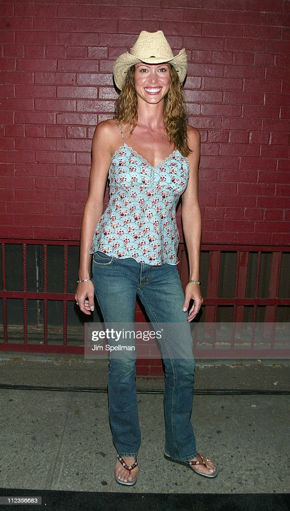 Shannon Elizabeth during Entertainment Weekly's 1st Annual 'IT List' Party at Milk Studios in New York City, New York, United States.