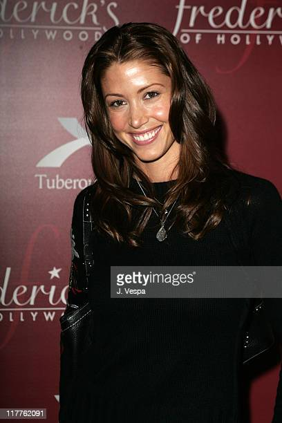 Shannon Elizabeth during Frederick's of Hollywood Third Annual Lingerie Auction to Benefit The TS Alliance at Frederick's of Hollywood in Hollywood...