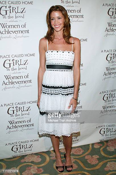 Shannon Elizabeth during Girlz in the Hood Luncheon Celebrating Women of Achievement Awards to Benefit A Place Called Home at Beverly Hills Hotel in...