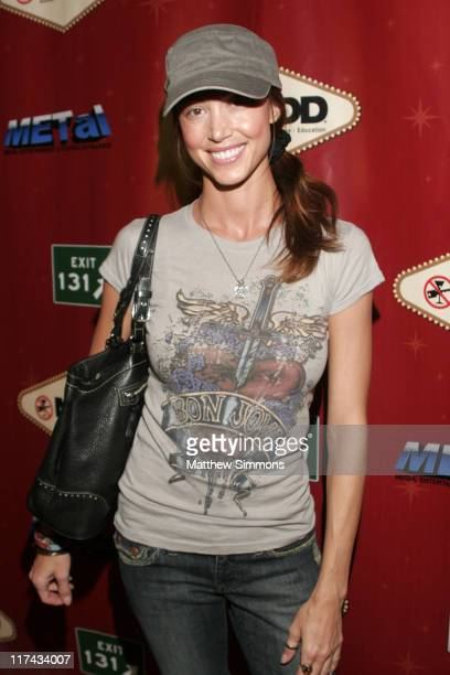 Shannon Elizabeth during Hold Em Poker Gone MADD at The Bicycle Casino in Bell Gardens California United States