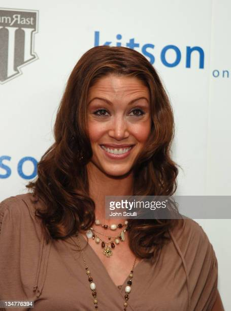 Shannon Elizabeth during Justin Timberlake and Trace Ayala in Celebration of Their New Clothing Line 'William Rast' Launch at Kiston in Los Angeles...