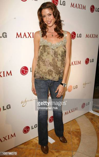 Shannon Elizabeth during Maxim Hot 100 Rock and Roll Poker Tournament Inside and Arrivals at Wynn Las Vegas in Las Vegas Nevada United States