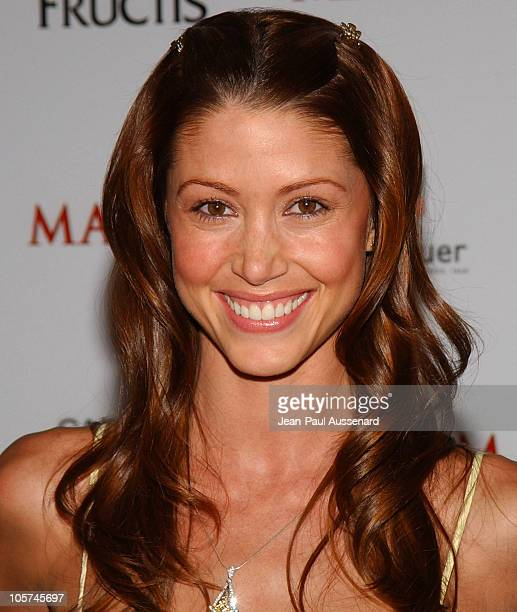 Shannon Elizabeth during Maxim Magazine's Hot 100 Arrivals at Montmartre Lounge in Hollywood California United States