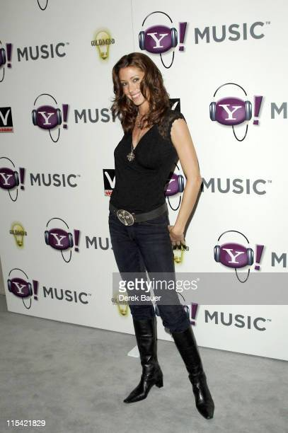 Shannon Elizabeth during Missy Elliot Hosts Yahoo Music's Exclusive Grammy After Party at Mood in Hollywood CA United States
