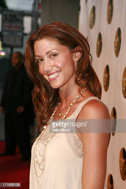 Shannon Elizabeth during Molly Sims 4th Annual Night with the Friends of El Faro at The Music Box Henry Fonda Theatre in Hollywood California United...