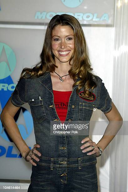 Shannon Elizabeth during Motorola Hosts Fourth Annual Holiday Party Arrivals at The Lot in Hollywood CA United States