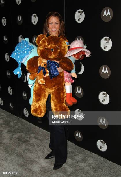 Shannon Elizabeth during Motorola's Seventh Anniversary Party to Benefit Toys for Tots Arrivals at American Legion Hall in Los Angeles California...