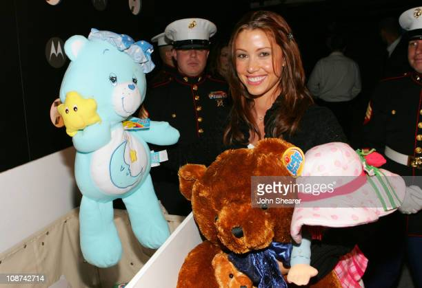 Shannon Elizabeth during Motorola's Seventh Anniversary Party to Benefit Toys for Tots - Red Carpet at American Legion in Los Angeles, California,...