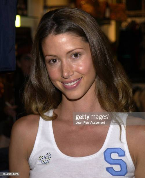 Shannon Elizabeth during MYTEE and KITSON Host a Private TShirt Decorating and Shopping Party to Benefit Kelly and Sharon Stone's PLANET HOPE at...