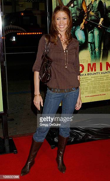 "Shannon Elizabeth during New Line Cinema's ""Domino"" Los Angeles Premiere - Arrivals at Grauman's Chinese Theatre in Hollywood, California, United..."