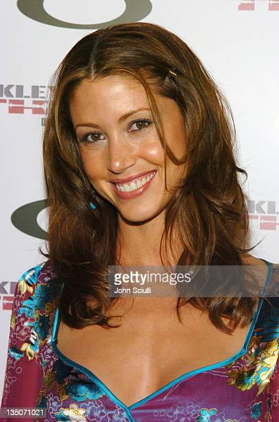 Shannon Elizabeth during Oakley Thump 2 Launch Party October 12 2005 at Montmartre Lounge in Hollywood California United States